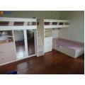 Dviaukštė vaikiška lova DL0010